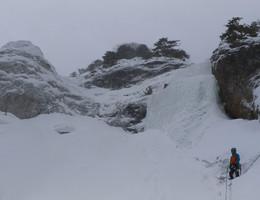 Wörschach Eisfall - Ennstal - Eisklettern