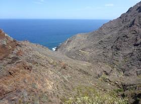 Rückblick zum Playa Tamadiste