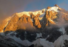 Frendopfeiler - Aiguille du Midi - Mont Blanc Gruppe