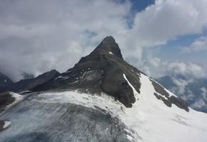 Großes Wiesbachhorn von der Schwarzenberghütte - Hohe Tauern