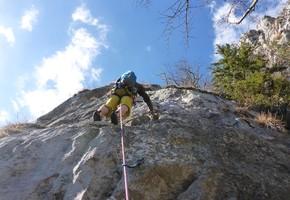 Routenkombo am Ratengrat - Grazer Bergland