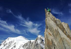 Teufelsgrat (Arete du Diable) - Mont Blanc du Tacul