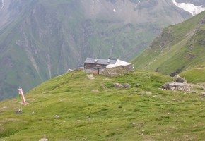 Zustieg zur Schwarzenberghütte - Hohe Tauern
