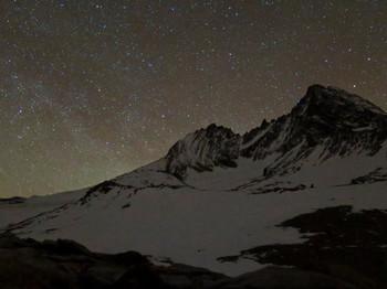 Großglockner im Sternenmeer