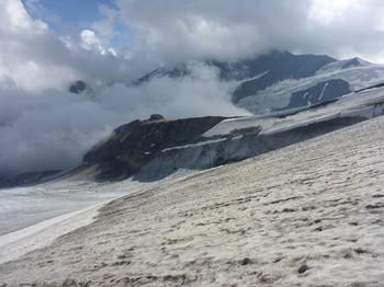 Oberwalderhütte in Sicht